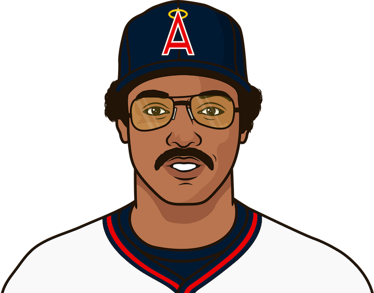 How many HR did Reggie Jackson have in 1984?