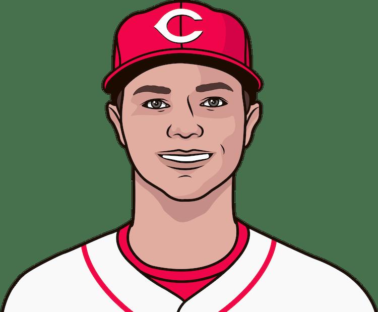Illustration of Sonny Gray wearing the Cincinnati Reds uniform