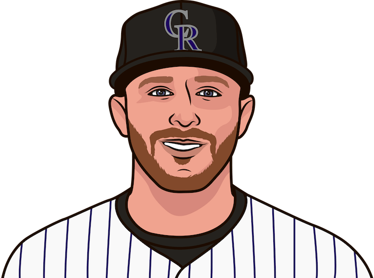 which rockies shortstop has the most career games with 2+ hr
