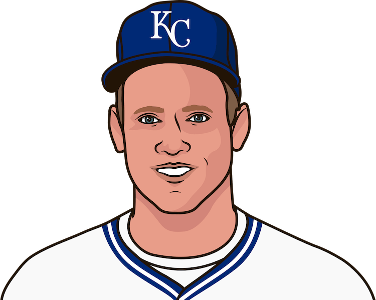 How many career homers did George Brett have?