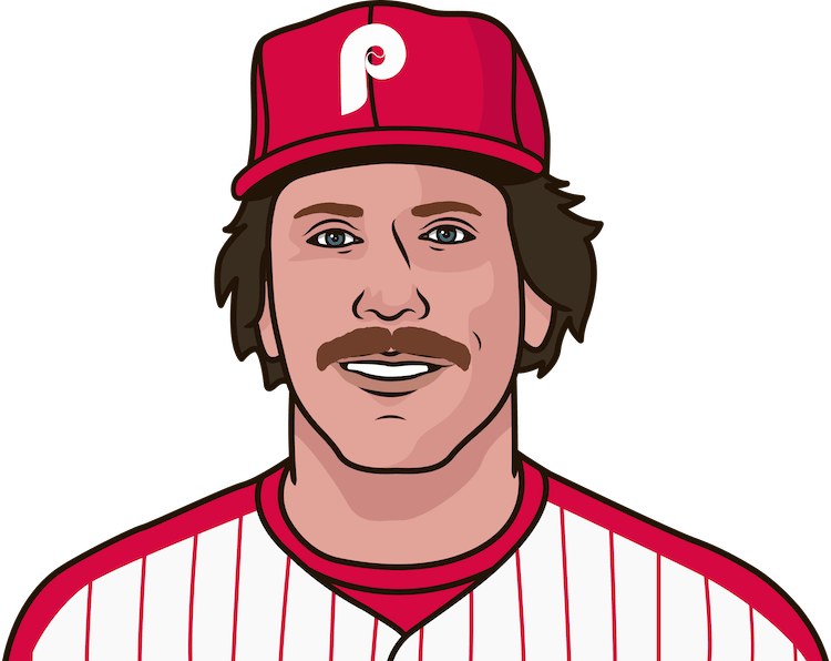 Who has the most career HR for the Phillies?