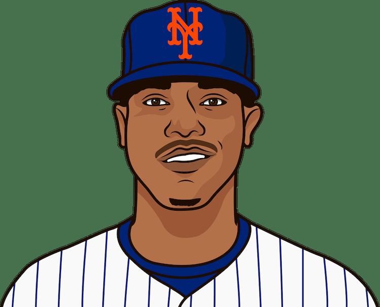 Illustration of Marcus Stroman wearing the New York Mets uniform