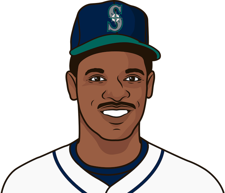 When did Rickey Henderson hit his first home run with the Mariners?
