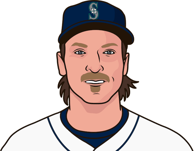 Who was the first Mariners pitcher with a no-hitter in a game?