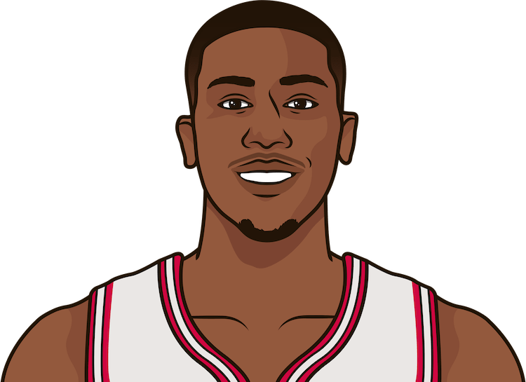 kris dunn game logs against blazers