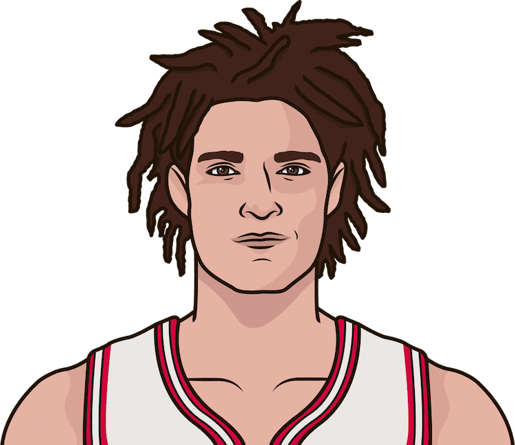 When was the last time Robin Lopez had a double-double in a game?
