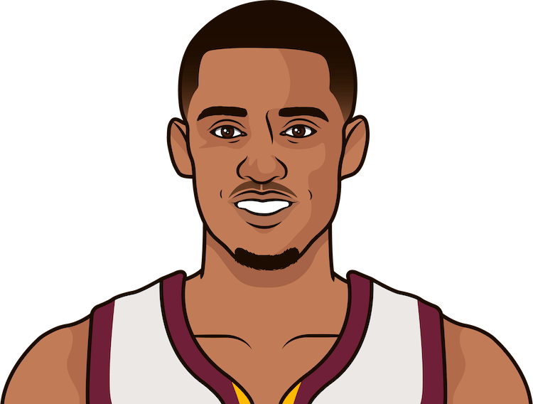 jordan clarkson on the cavaliers usage rate without kevin love
