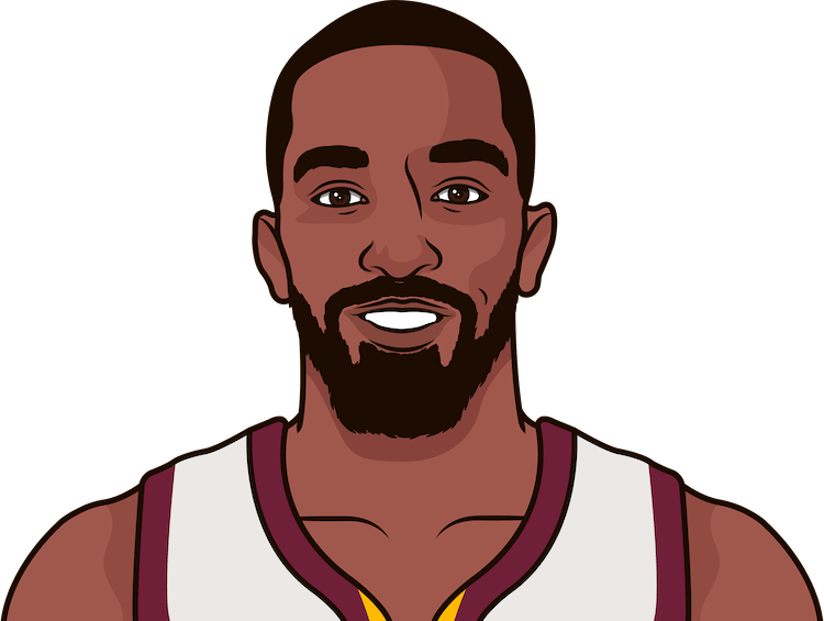 jr smith average rebounds from 1/1/1990 to 12/20/2017