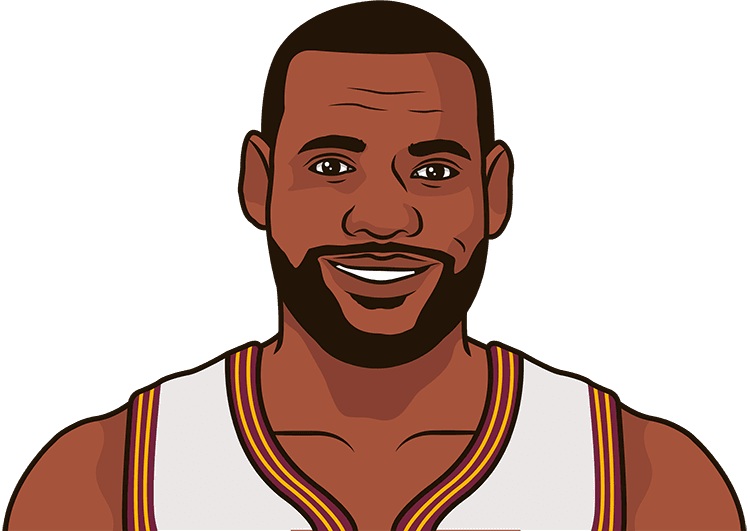 What is the Cavaliers' record in the last 3 seasons with, without LeBron James?