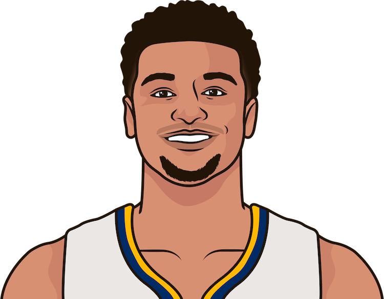 jamal murray stats each game vs dallas