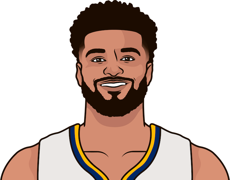 jamal murray game logs against lakers 2018