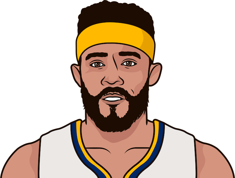 javale mcgee average rebounds from 1/1/1990 to 12/10/2017