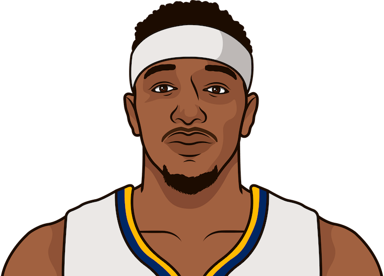 torrey craig without will barton last year game log