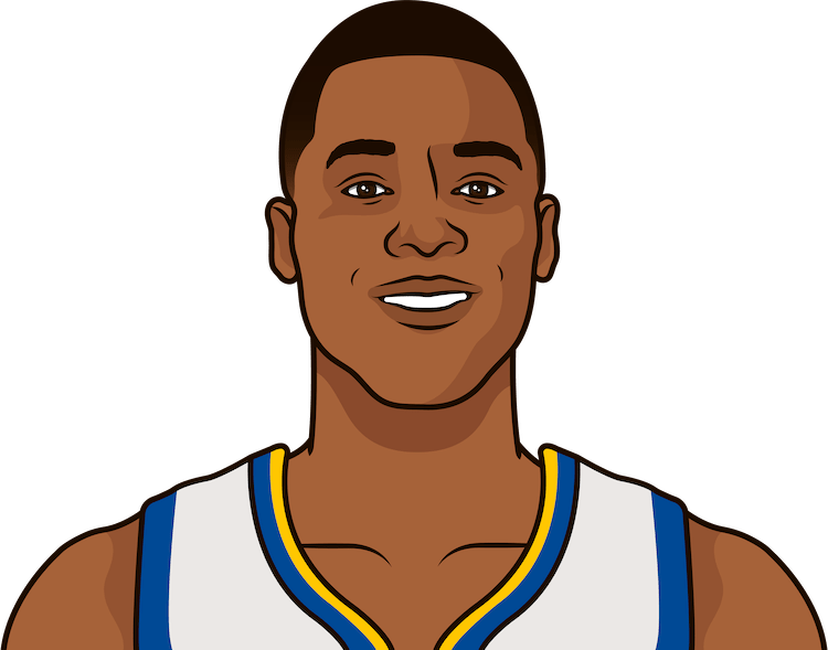 harrison barnes, individual game, 3 or more 3s, playoffs