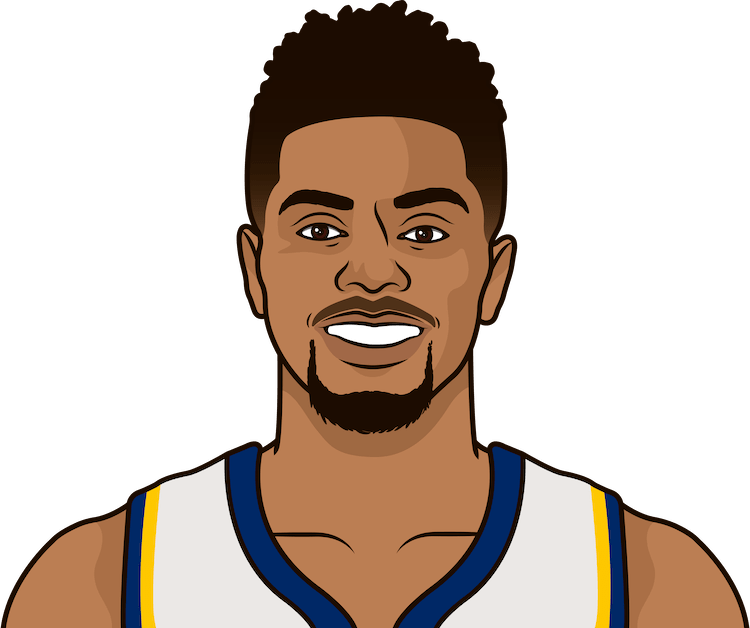 jeremy lamb stats vs bulls in last 6 games