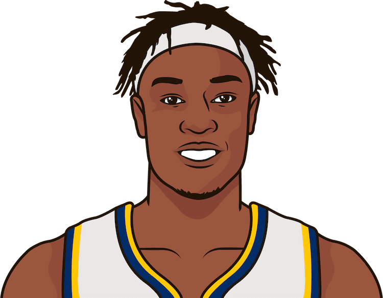myles turner game logs vs dal 2016-17 to 2019-20