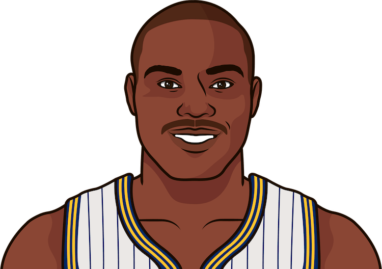 tim hardaway most points as a pacer
