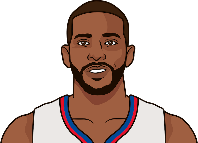 chris paul career high vs portland
