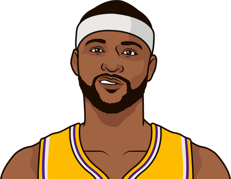 who has the most games with 30+ points and 20+ rebounds since 2015-16