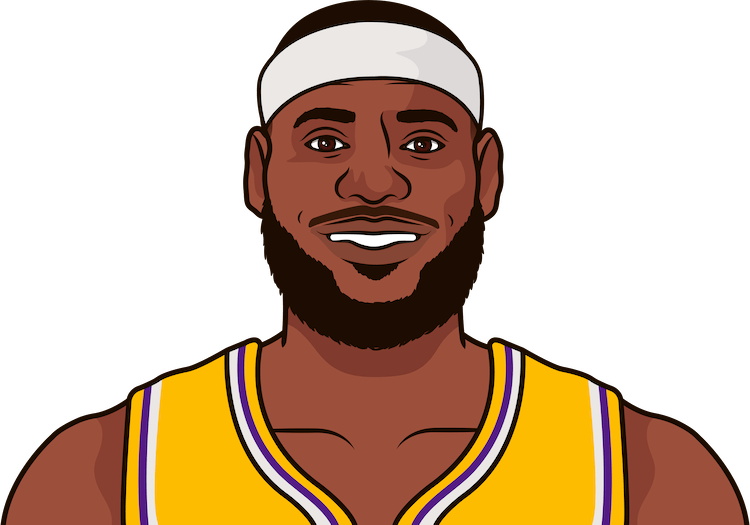 lebron james most assists in 1 game