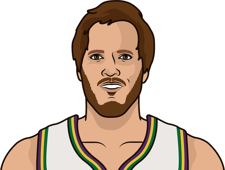mark eaton nba stats from october 1986 to january 1987