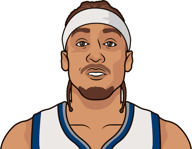 ricky davis, beasley, lavine, olowokandi, chuck person, blount career regular season and playoff gms, mins, points, rebs, assists, steals, blocks, turnovers with timberwolves