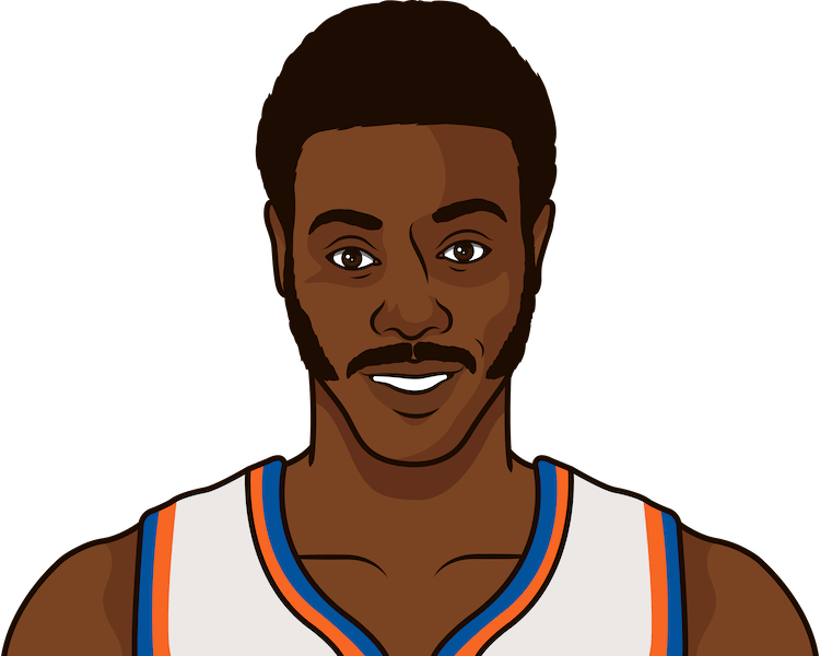 how many wins have knicks from 1969-70 to 1978-79