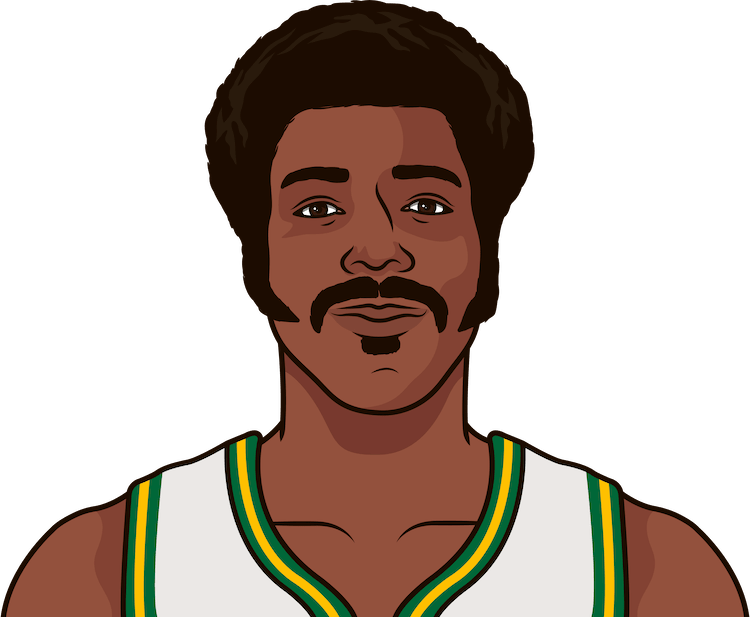 how many wins have sonics from 1969-70 to 1978-79 in regular season and playoff