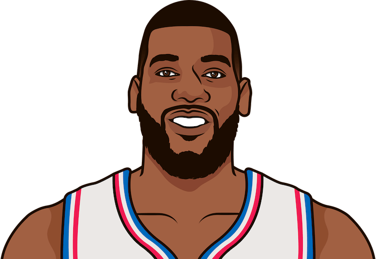 greg monroe average rebounds from 1/1/1990 to 12/19/2017