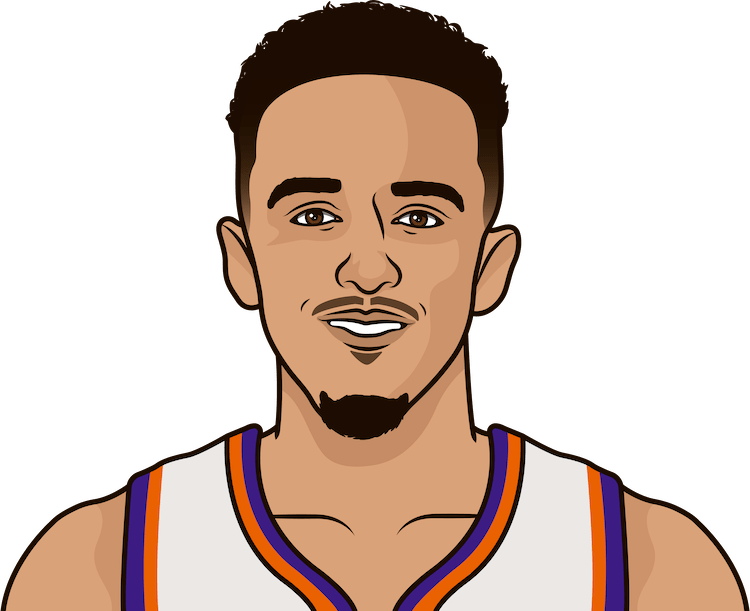 Illustration of Landry Shamet wearing the Phoenix Suns uniform