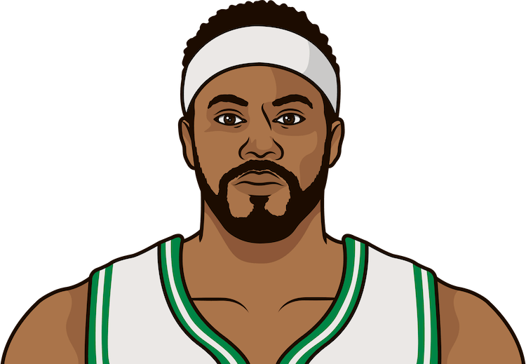 rasheed wallace most rebounds in a game as a celtic