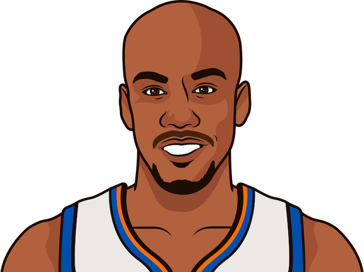stephon marbury most rebounds in a game as a knick