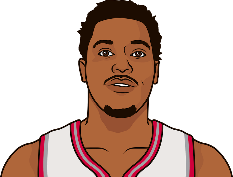 What are the most rebounds in a game by Kyle Lowry?