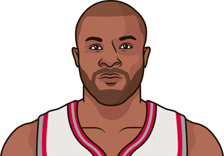 p.j. tucker game stats vs cavs