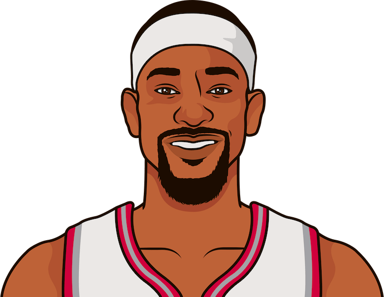terrence ross stats each game vs portland