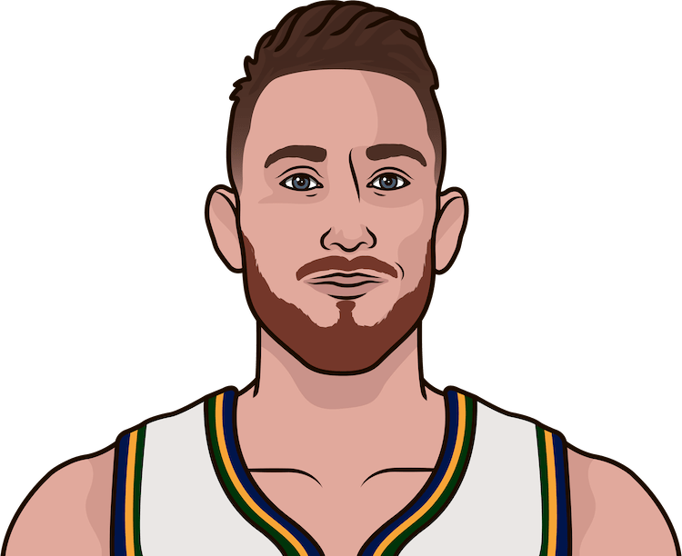 gordon hayward 10 assist games