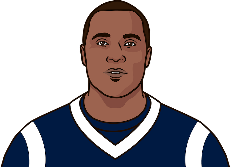 most rushing yards + receiving yards in a game by marshall faulk