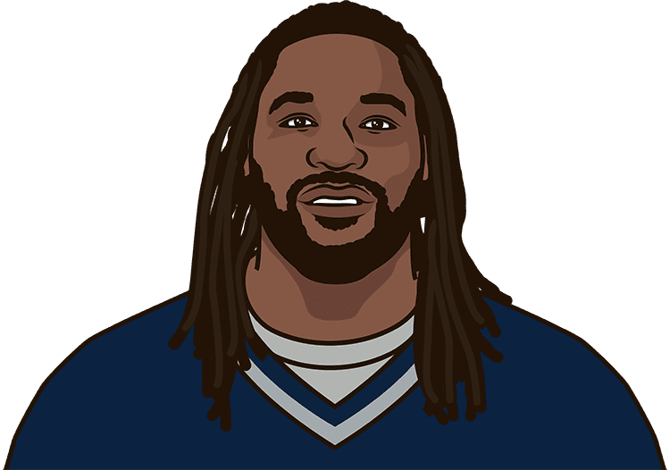 how many carries did lagarrette blount have in the red zone in 2015