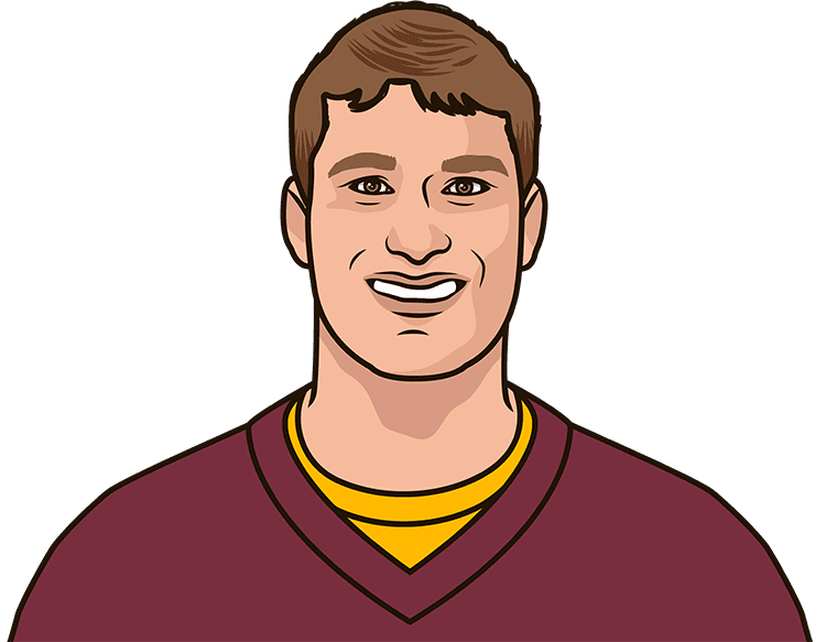 How many passing yards did Kirk Cousins have in his last game?