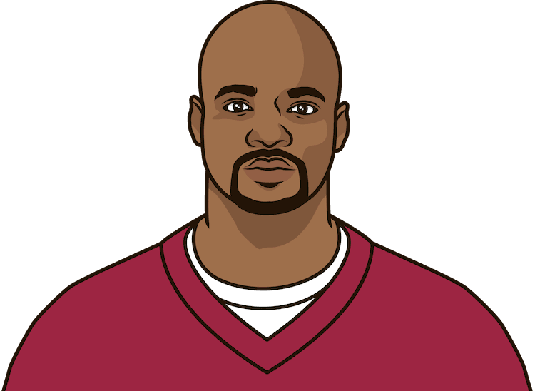 fewest rush yards by adrian peterson in a game with 15 or more rush att