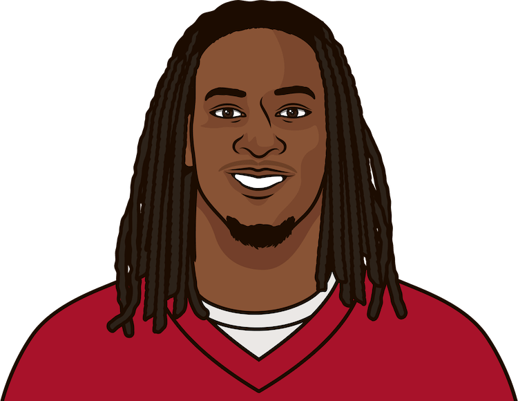 gurley last 3 games vs saints