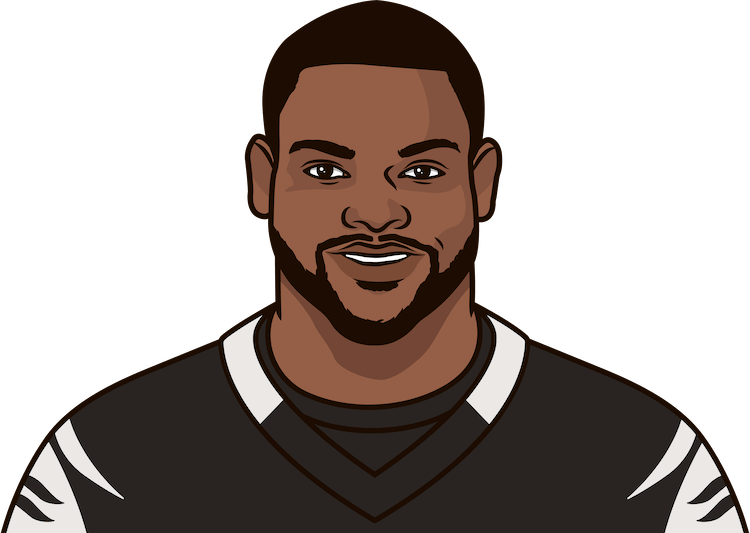 geno atkins yards
