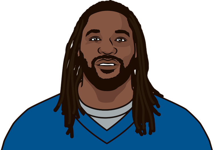 legarette blount avg rushing yards per game vs dolphins