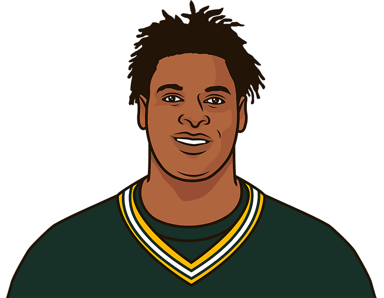 What are the most receiving yards in a game this season by Davante Adams?