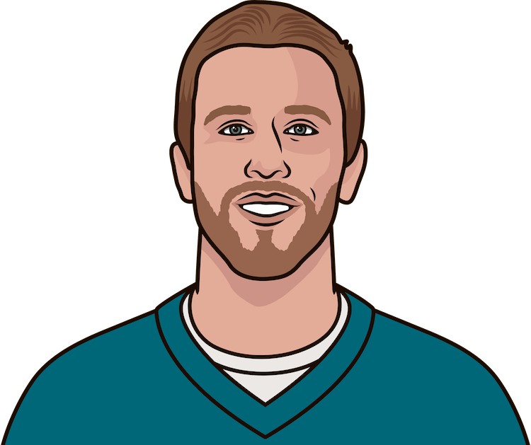 nick foles britini nfl records