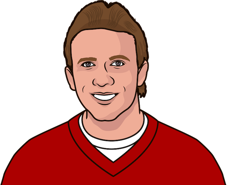 how many passing + yards does joe montana have, listed by season