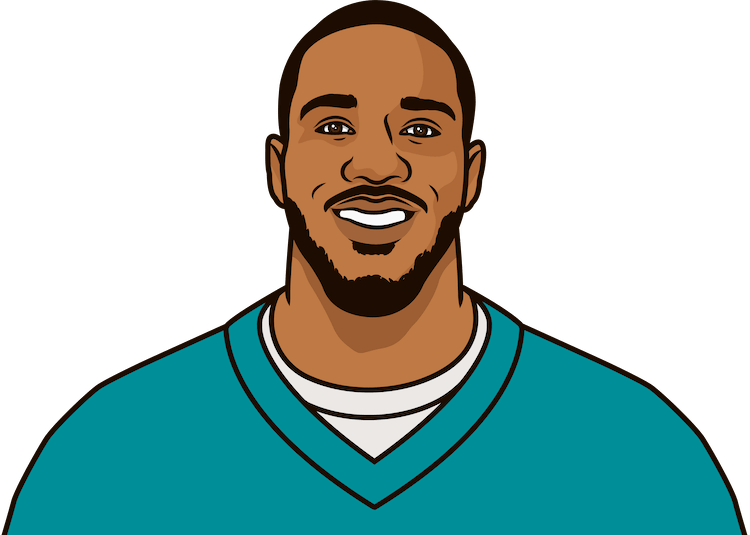 lamar miller most rushing yards in a game as a dolphin