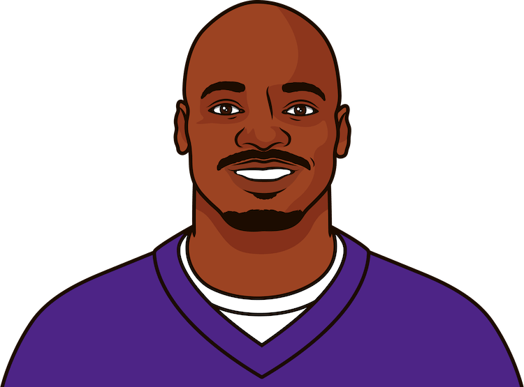 most touchdowns in a game by adrian peterson