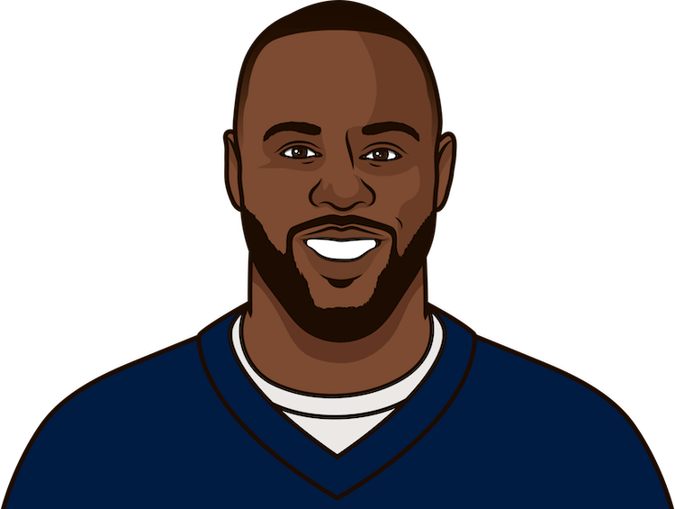 james white gamelog vs chiefs