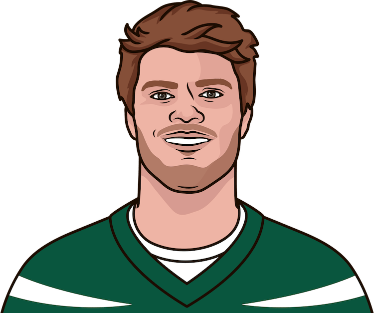 sam darnold in jerry jeudy's last game return yards